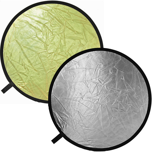 "Bowens 32"" Reflector - Silver/Gold"