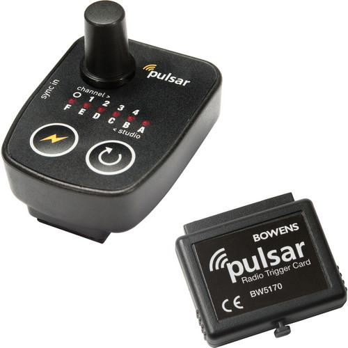 Bowens Pulsar Tx Radio Trigger and Receiver Card Kit