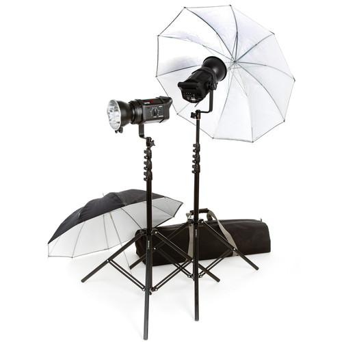 Bowens Gemini 200 2 Light Umbrella Monolight Kit (120VAC/12VDC)