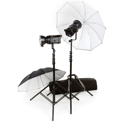 Bowens Gemini 400 2-Light Umbrella Kit (230VAC)