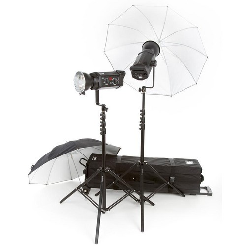 Bowens Gemini 500R 2-Light 2-Umbrella Kit (230VAC)