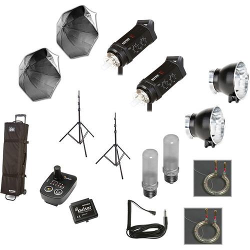 Bowens Gemini Classic 500C 2 Light Umbrella Kit with Pulsar Radio Remote (120V)