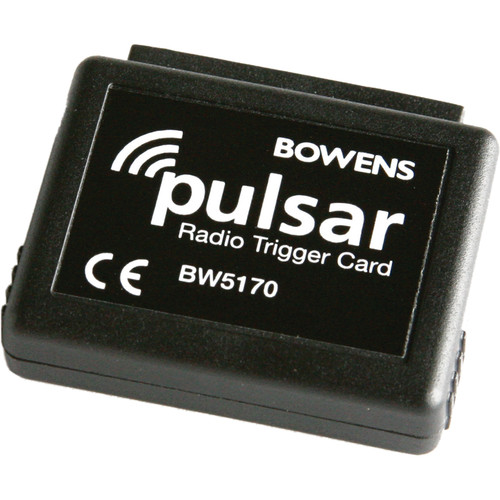 Bowens Pulsar Radio Trigger Card Set