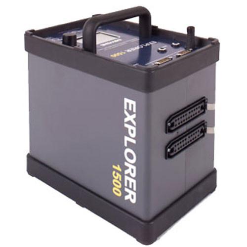 Bowens Explorer 1500 Portable Battery Generator - 1500 watts/second