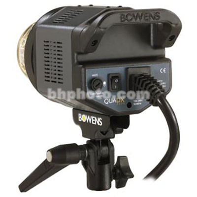 Bowens QuadX Flash Head without Modeling Light