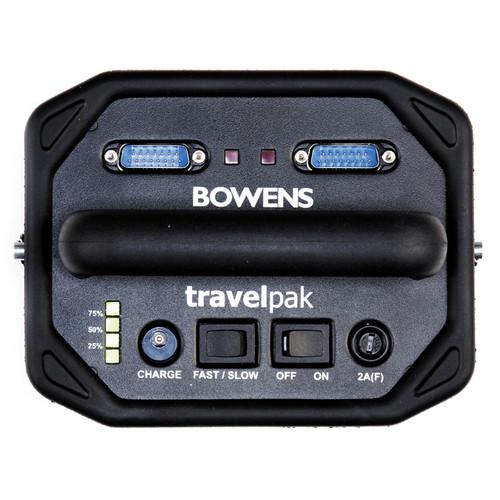 Bowens Travelpak Control Panel