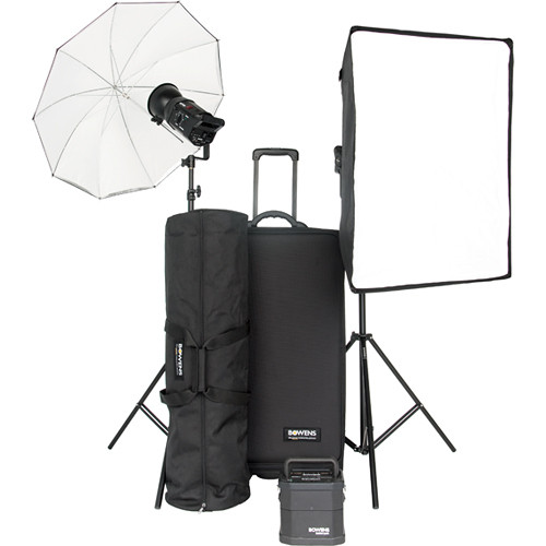 Bowens Gemini 400 2-Light Travelpak Kit (120VAC)