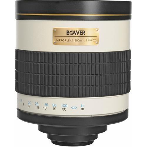 Bower 800mm f/8 Manual Focus Telephoto Lens for Canon EOS
