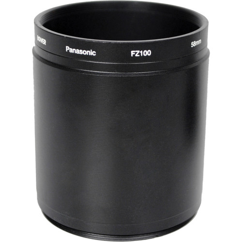 Bower 58mm Adapter Tube for Panasonic FZ100 Digital Camera