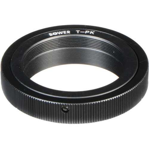 Bower T-Mount to Pentax K Mount Adapter