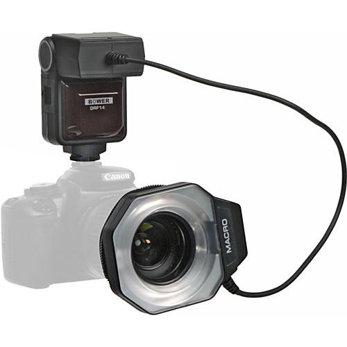 Bower SFD14N Macro Ringlight Flash for Nikon i-TTL