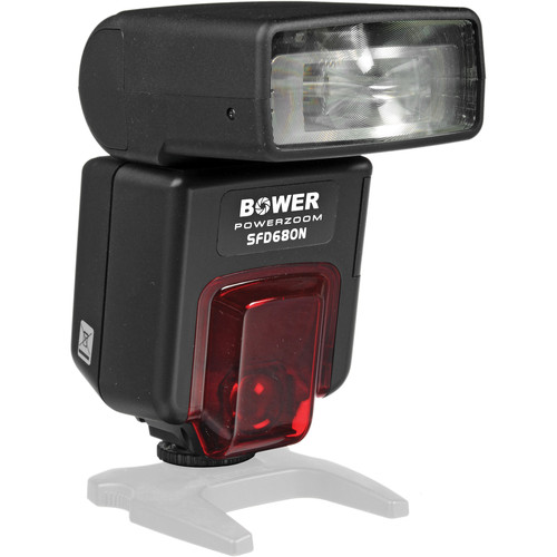 Bower SFD680 Power Zoom Digital TTL Flash for Nikon Cameras