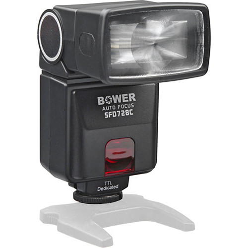 Bower SFD728 Autofocus TTL Flash for Canon Cameras