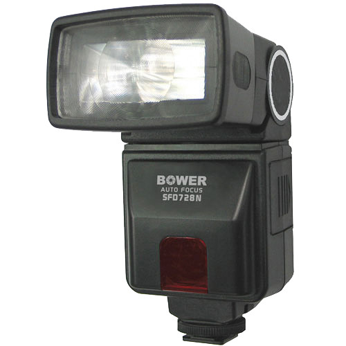 Bower SFD728 Autofocus TTL Flash for Nikon Cameras