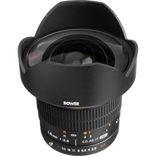 Bower 14mm f/2.8 Ultra Wide Angle Lens for Pentax/Samsung DSLRs