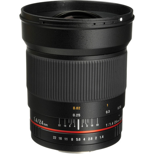 Bower 24mm f/1.4 Wide-Angle Lens for Sony A Mount Cameras