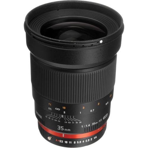 Bower 35mm f/1.4 Lens for Pentax