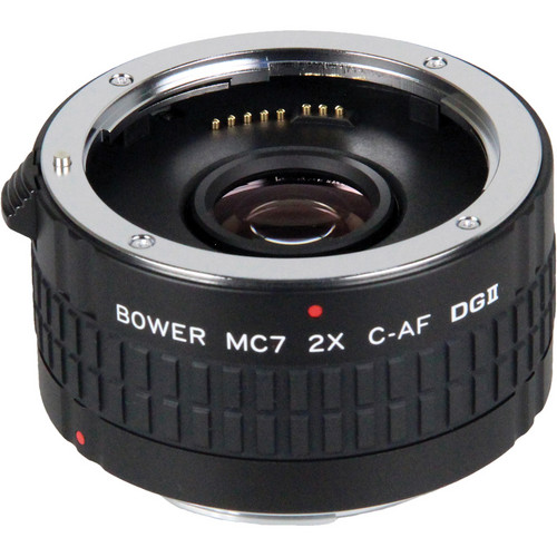 Bower 2x DGII Teleconverter with 7 Elements for Canon EF