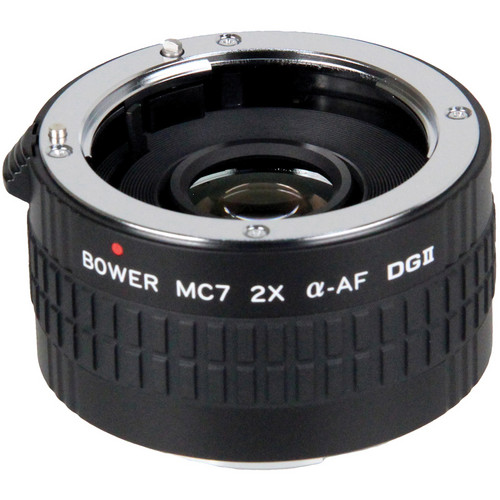 Bower 2x DGII Teleconverter with 7 Elements for Sony A