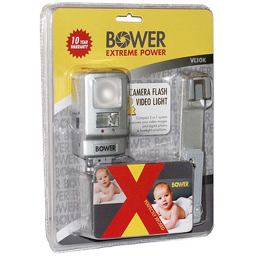 Bower VL10K Twin Light Video Light/Flash Kit