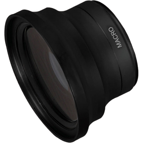 Bower VLB3858 0.38x Super Wide Angle Lens (58mm Thread, Black)