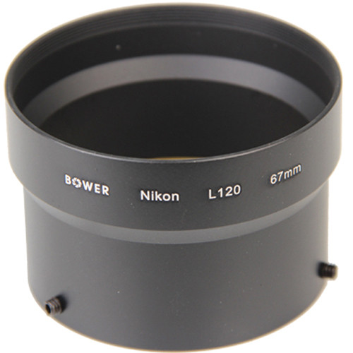 Bower 67mm Adapter Tube for Nikon L120