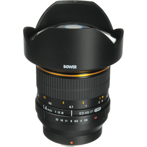Bower 14mm f/2.8 Lens for Samsung NX