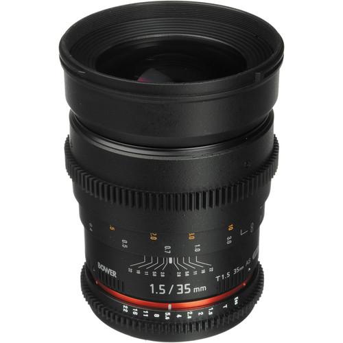 Bower 35mm T1.5 Cine Lens for Nikon F