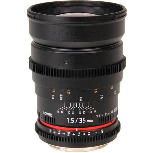 Bower 35mm T1.5 Cine Lens for Sony Alpha