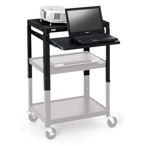 Bretford Adjustable AV Cart Retrofit Kit (Black)