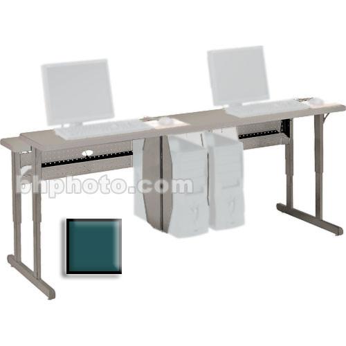 "Bretford 36 x 30"" Connections Flat Screen Work Center (Polo Green Trim)"