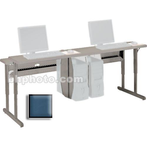 """Bretford 36 x 30"""" Connections Flat Screen Work Center (Topaz Blue Trim)"""