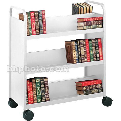 Bretford Double-Sided Mobile Book & Utility Truck (Aluminum)