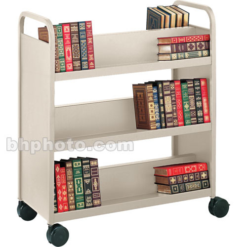 Bretford Double-Sided Mobile Book & Utility Truck (Grey Mist)