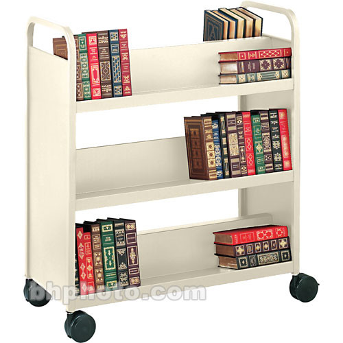 Bretford Double-Sided Mobile Book & Utility Truck (Putty Beige)