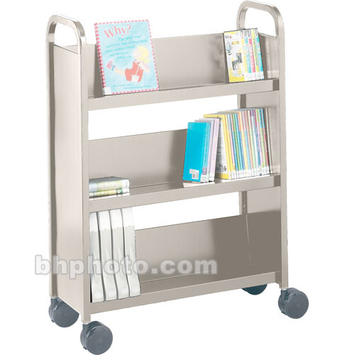 Bretford Contemporary Book & Utility Truck (Gray Mist)