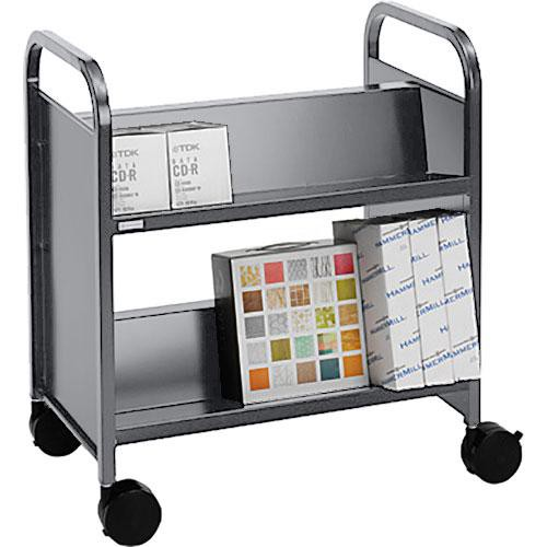 Bretford BOOV5 Double-Sided Mobile Book & Utility Truck (Aluminum)