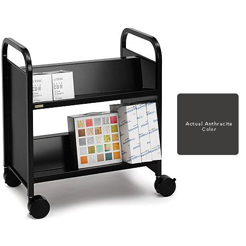 Bretford Double-Sided Mobile Book & Utility Truck (Anthracite)