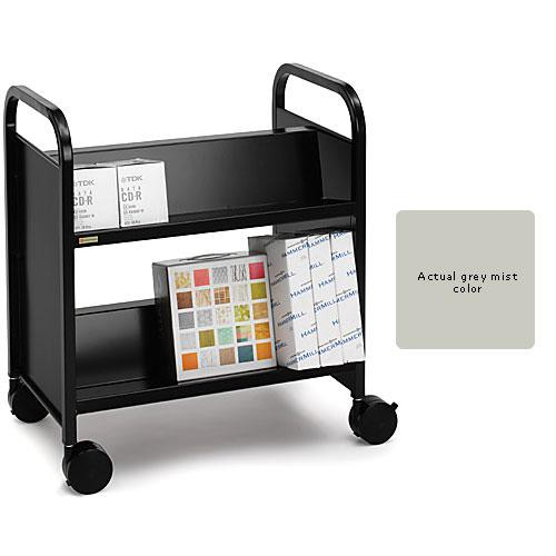 Bretford Double-Sided Mobile Book & Utility Truck (Gray Mist)