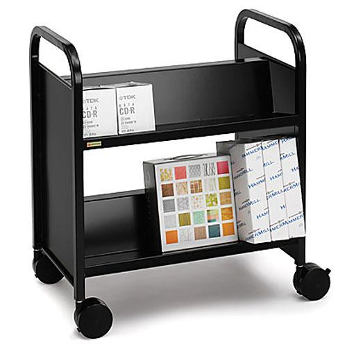 Bretford Double-Sided Mobile Book & Utility Truck (Raven)