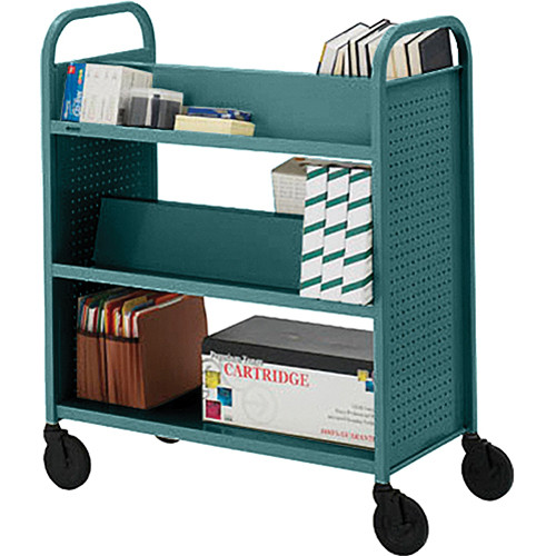 Bretford BOOVF21 Double Sided Book Truck (Polo Finish)
