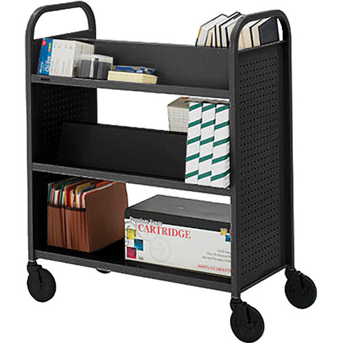 Bretford BOOVF21 Double Sided Book Truck (Raven Finish)