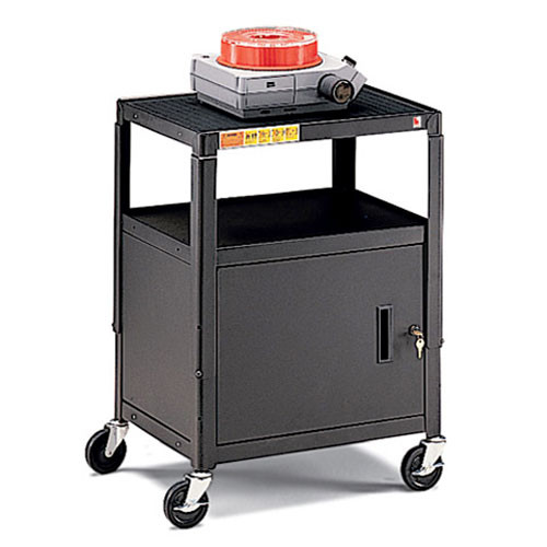 "Bretford Adjustable Cabinet Cart with 5"" Casters"