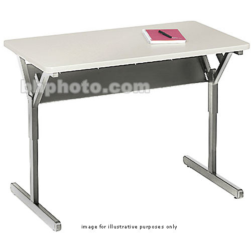 "Bretford 36 x 30"" Connections Student Classroom Desk (Grey Mist)"