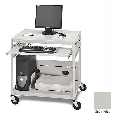 Bretford Mobile All-In-One Computer Work Station (Grey Mist)