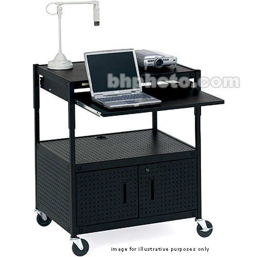 Bretford Multimedia Height-Adjustable Cabinet Cart