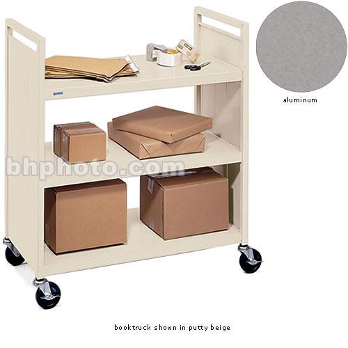 Bretford Mobile Flat Shelf Book & Utility Truck (Aluminum)