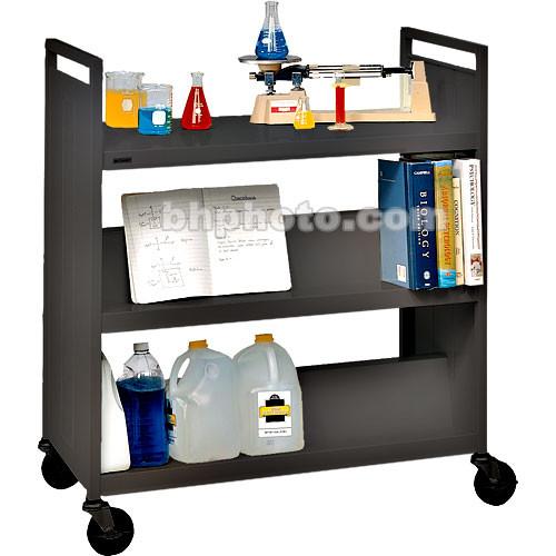 Bretford Mobile Flat Shelf Book & Utility Truck (Anthracite)