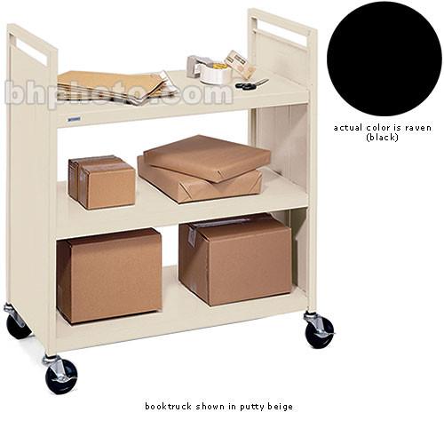 Bretford Mobile Flat Shelf Book & Utility Truck (Raven)