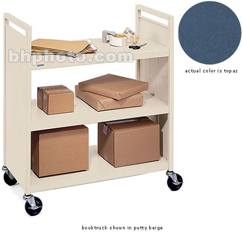 """Bretford 3-Shelf Booktruck with 5"""" Casters (Topaz)"""
